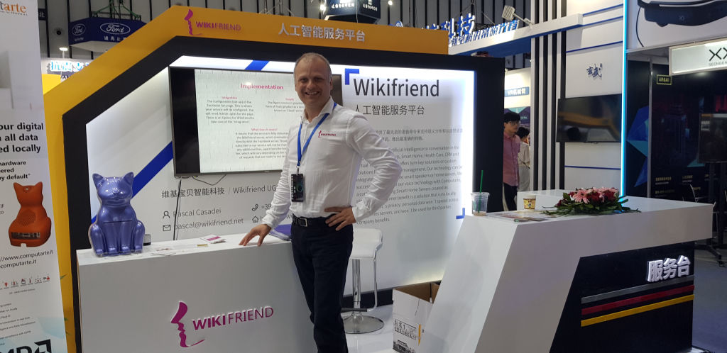 Wikifriend Nanjing Tech Week Slush